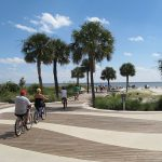 Biking at Coligny Beach Park