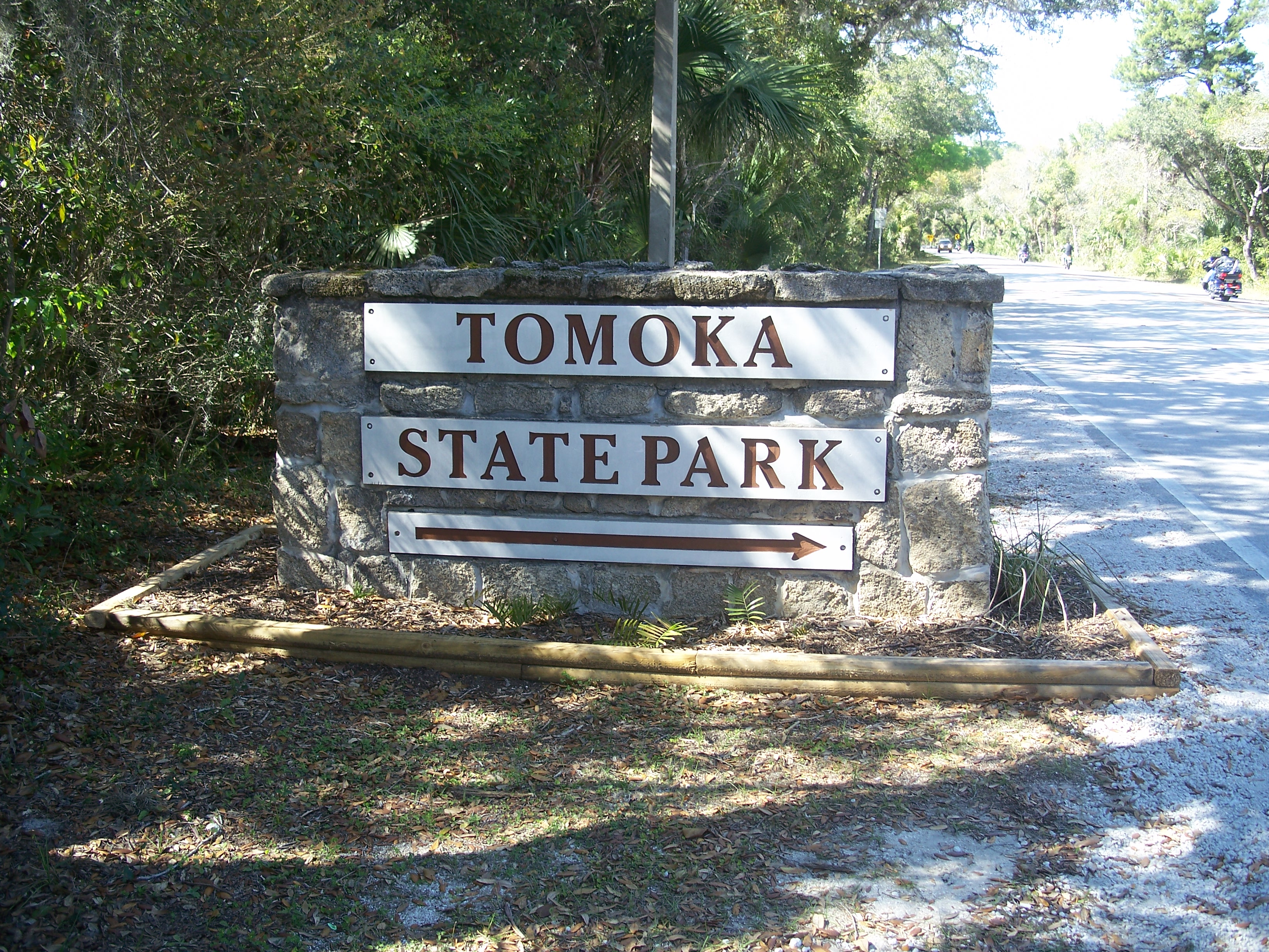 Ormond Beach FL Tomoka SP Sign
