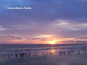 Ormond Beach Florida Sunset