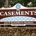 The Casements Rockefeller Sign