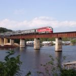 Train Over Branson Bridge