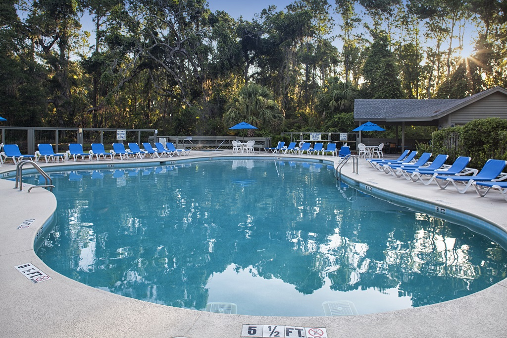 Hilton Head Island Carolina Club Resort Pool