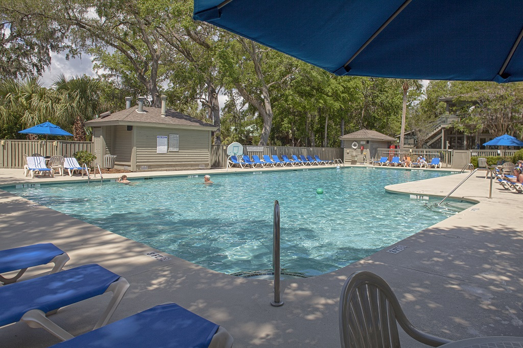 Hilton Head Island Egret Point Resort Pool and Deck