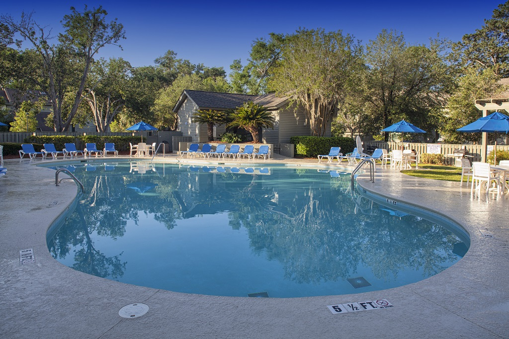 Hilton Head Island Southwind Resort Pool and Deck